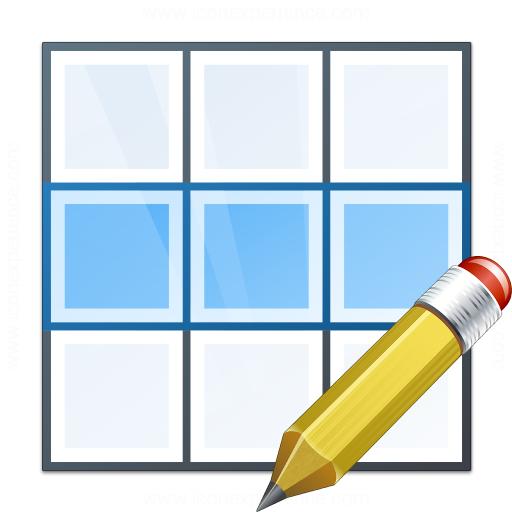 Table Row Edit Icon