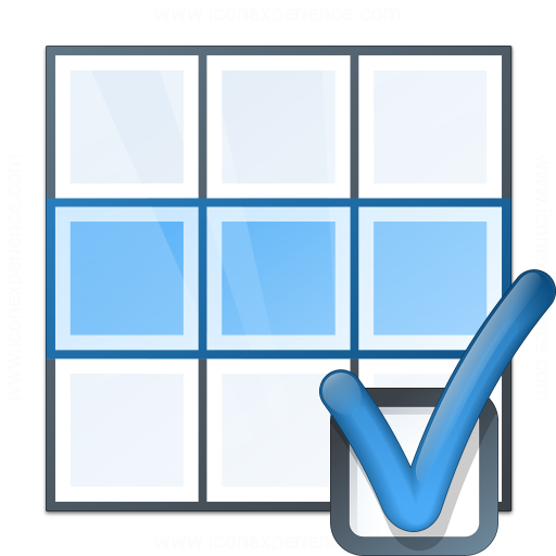 Table Row Preferences Icon