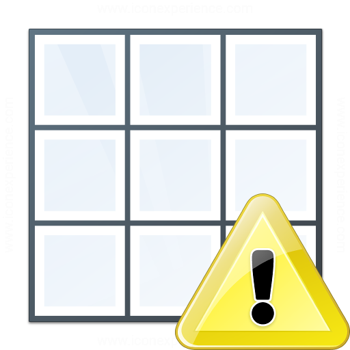 Table Warning Icon