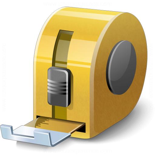 Tape Measure 2 Icon