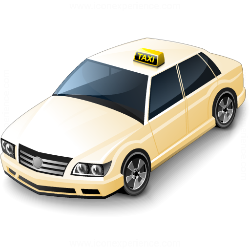 Taxi German Icon