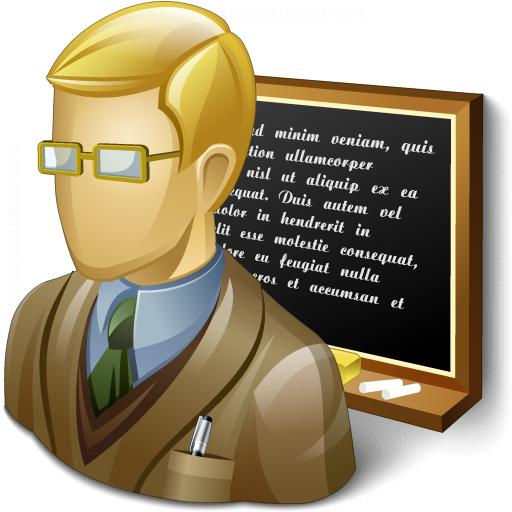 Teacher Blackboard Icon