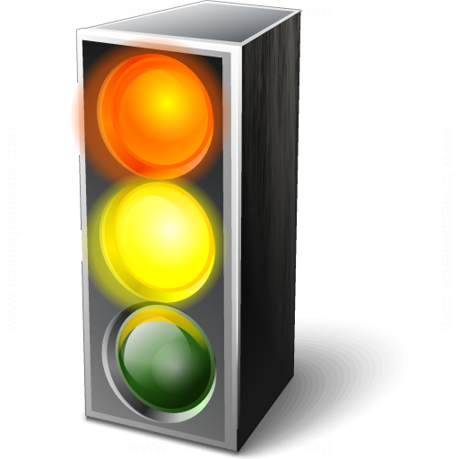 Trafficlight Red Yellow Icon