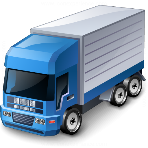 Truck Blue Icon