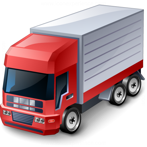 Truck Red Icon