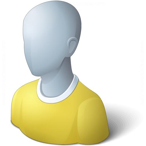 User Generic Yellow Icon