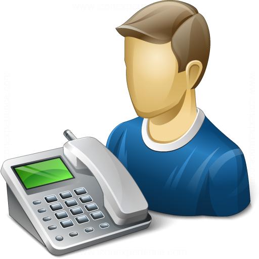 User Telephone Icon