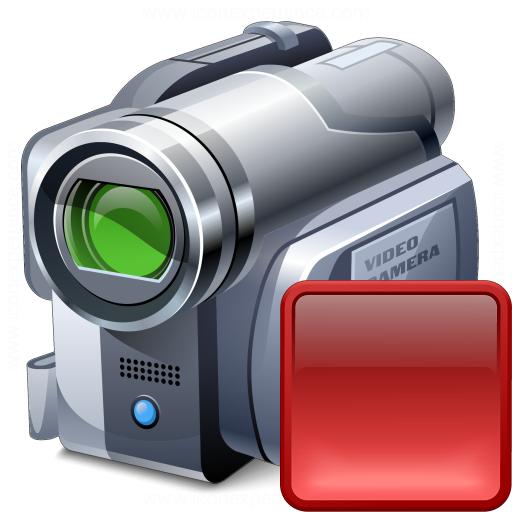 Videocamera Stop Icon