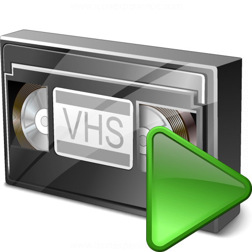 Videotape Run Icon