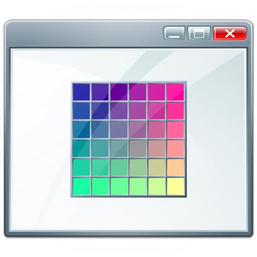 Window Colors Icon