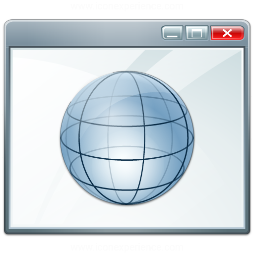 Window Environment Icon