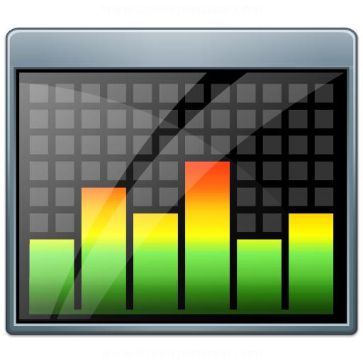 Window Equalizer Icon