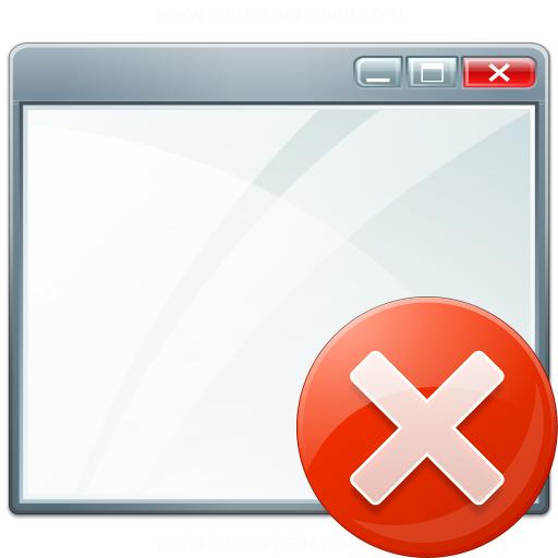 Window Error Icon