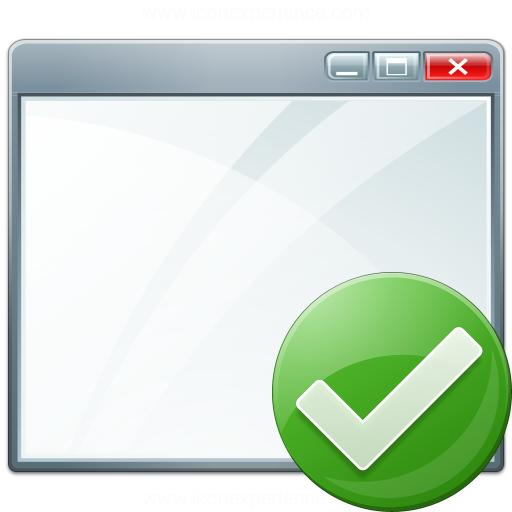 Window Ok Icon