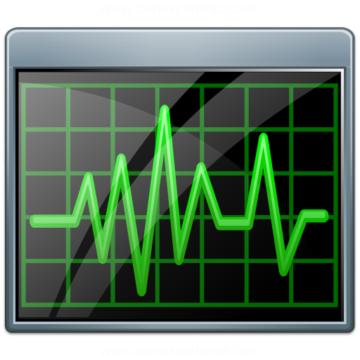 Window Oscillograph Icon