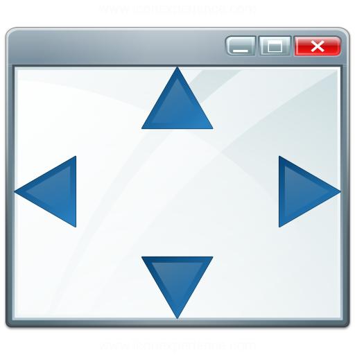 Window Size Icon