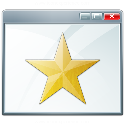 Window Star Icon
