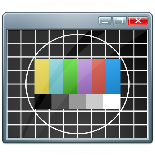 Window Test Card Icon