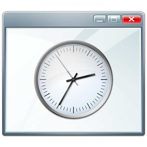 Window Time Icon
