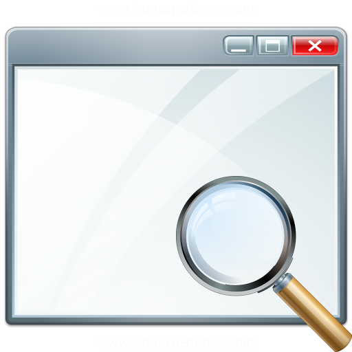 Window View Icon