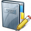 Address Book Edit Icon 64x64