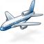 Airplane Icon 64x64