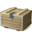 Ammunition Box Closed Icon 64x64