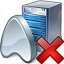 Application Server Delete Icon 64x64