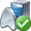 Application Server Ok Icon 64x64