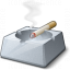 Ashtray Cigarette Icon 64x64