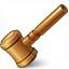 Auction Hammer Icon 64x64