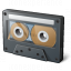 Audio Cassette Icon 64x64