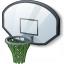 Basketball Hoop Icon 64x64