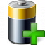 Battery Add Icon 64x64
