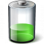 Battery Green 33 Icon 64x64