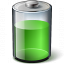 Battery Green 67 Icon 64x64