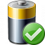 Battery Ok Icon 64x64