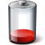 Battery Red 10 Icon 64x64