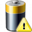 Battery Warning Icon 64x64