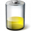 Battery Yellow 33 Icon 64x64