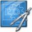 Blueprint Compasses Icon 64x64