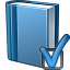 Book Blue Preferences Icon 64x64