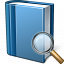 Book Blue View Icon 64x64