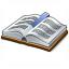 Book Bookmark Icon 64x64