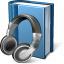 Book Headphones Icon 64x64