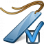 Bookmark Blue Preferences Icon 64x64