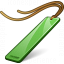 Bookmark Green Icon 64x64