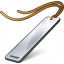 Bookmark Silver Icon 64x64