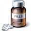 Bottle Of Pills Icon 64x64