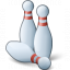 Bowling Pins Icon 64x64